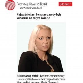 Ta idea ma dla nas szersze znaczenie – otwarty dostęp na Politechnice Wrocławskiej